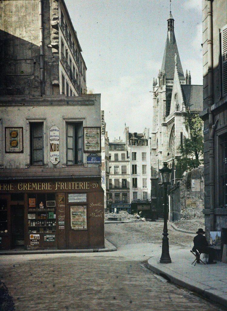 Frédéric Gadmer,Paris 1er, Maison borgne, rue du Pélican, octobre 1920