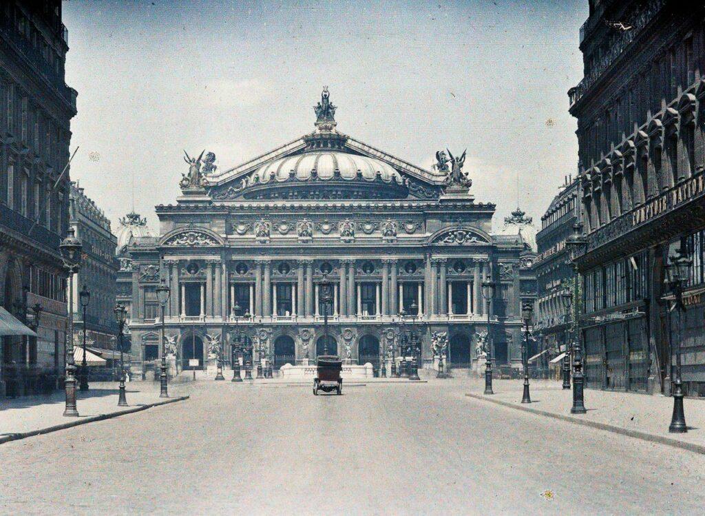 Auguste Léon, Paris 9e, l'Opéra Garnier, 24 mai 1920