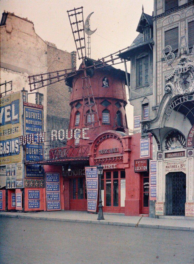 Stéphane Passet, Le Moulin Rouge, juin-juillet 1914