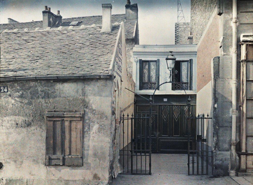 Frédéric Gadmer,Paris 15e, maison borgne, avenue Lowendal n°22, octobre 1920