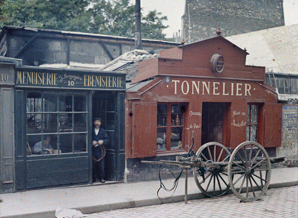 Frédéric Gadmer,Paris 6e, rue Notre-Dame des Champs,23 juillet 1914