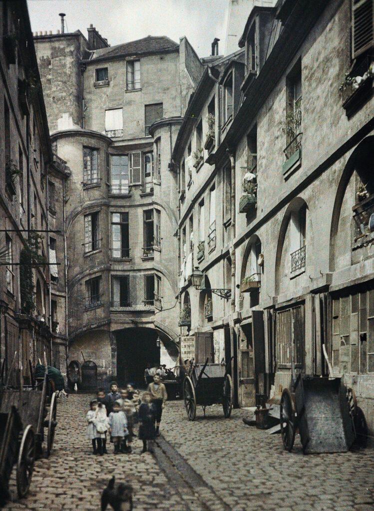 Stéphane Passet,Paris 2e, carrefour des rues d'Alexandrie, Sainte-Foy et Saint-Spire,25 juillet 1914