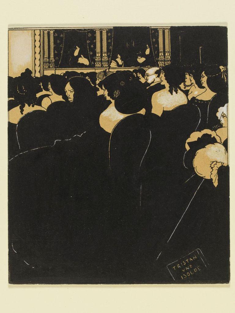 Aubrey Beardsley (1872-1898), The Wagnerites, 1894