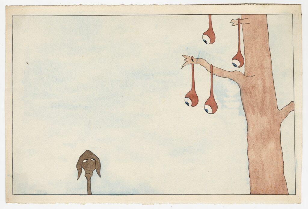 Léopold Chauveau, Paysage Monstrueux n°29, 1939