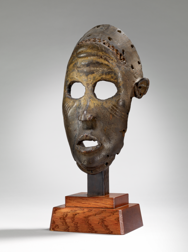 Masque anthropomorphe, collection Ladreit de Lacharrière