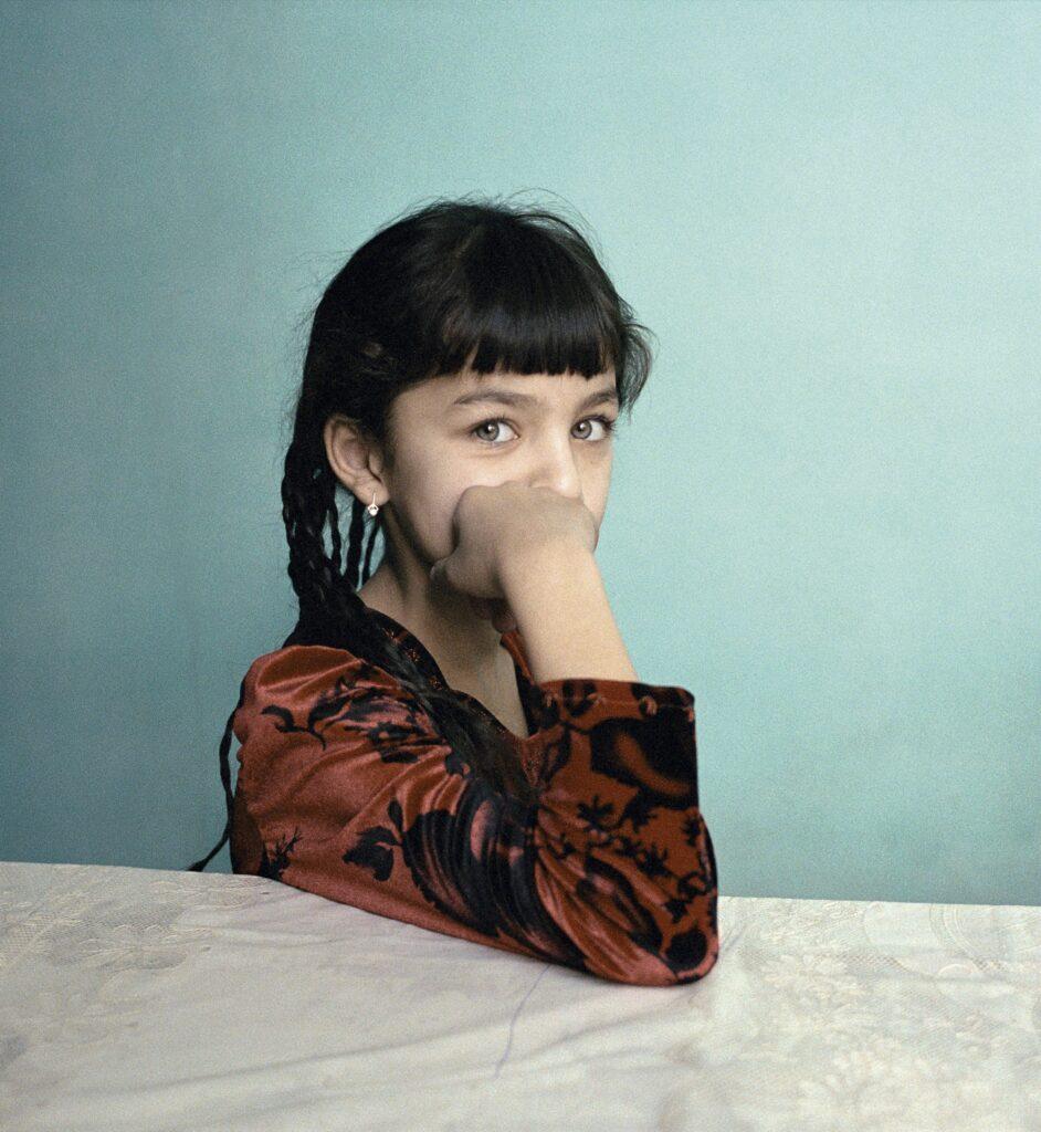 Claudine Doury, Malika, Samarcande, Ouzbekistan, 2004