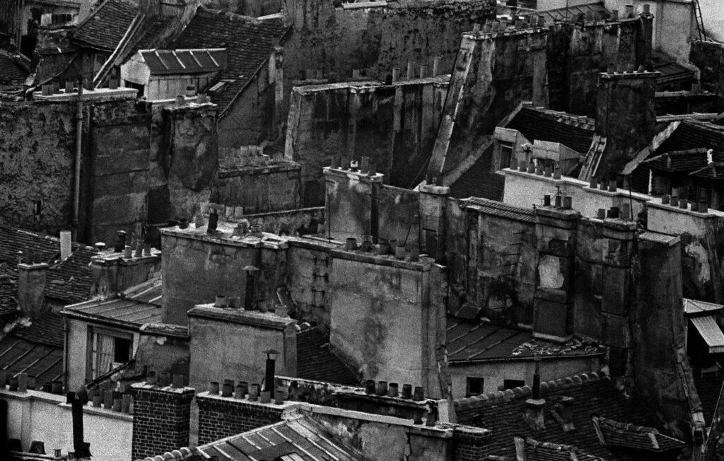 Frank Horvat, Toits, Paris, 1956