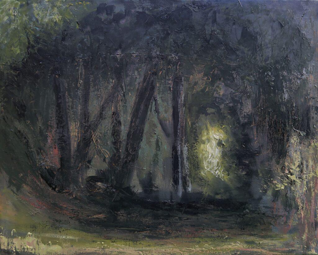Hadjiganev, Dans la forêt