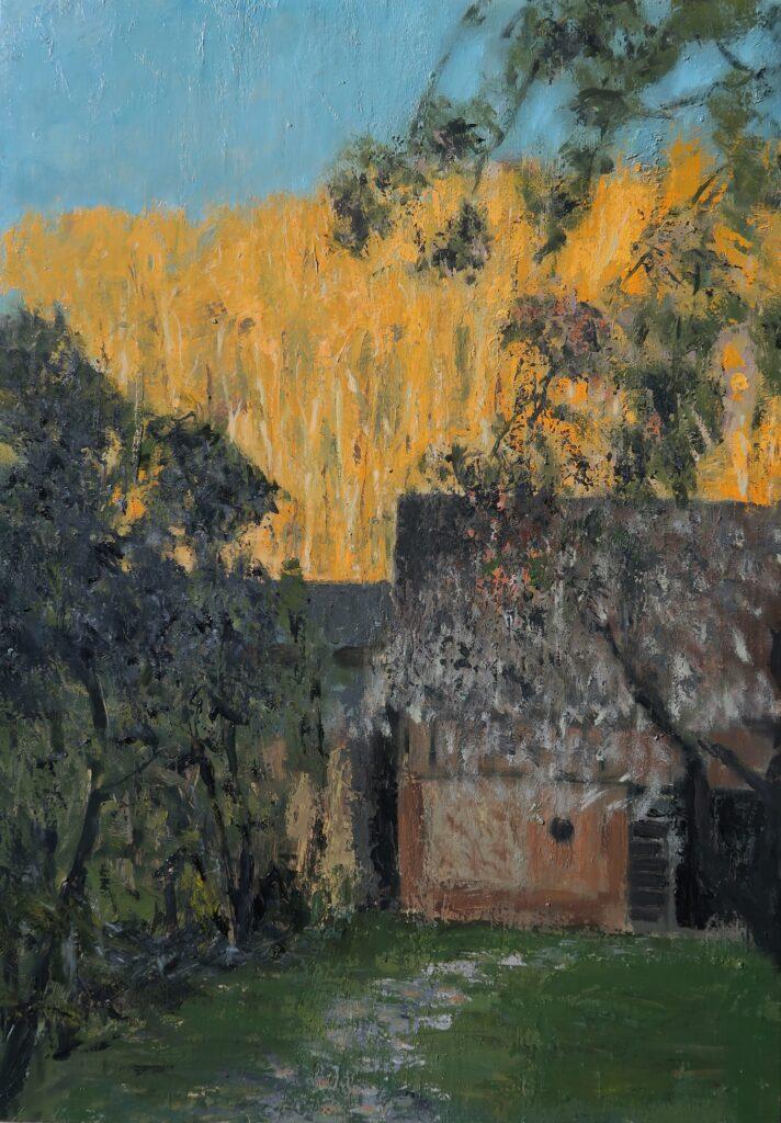 Hadjiganev, Jardin dans l'ombre