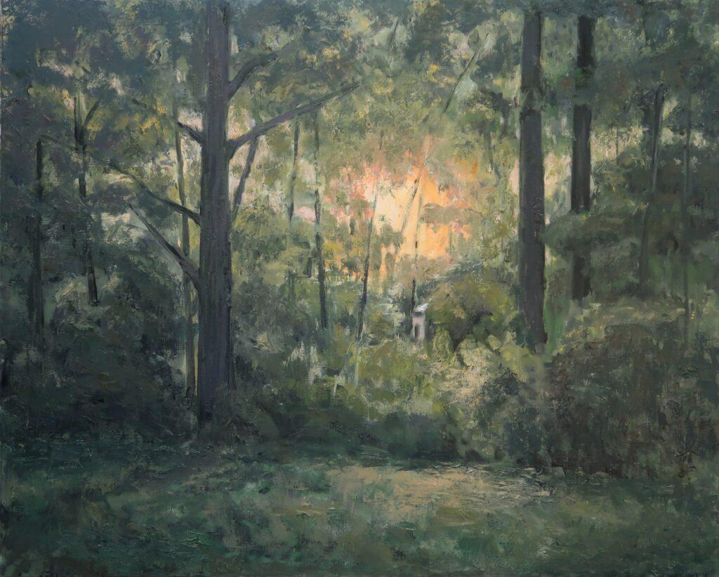Hadjiganev, Soir dans la forêt