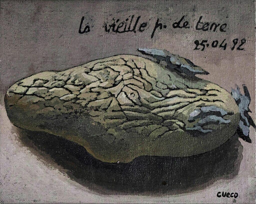 Henri Cueco, La vieille pomme de terre, 1992