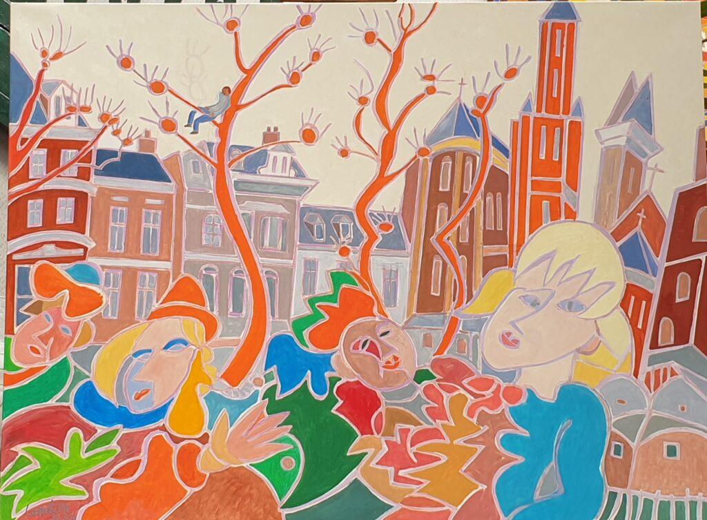 Henri Landier, Carnaval de Maastricht, 2020
