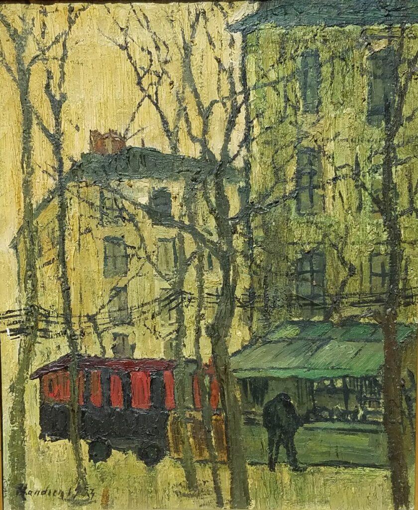 Henri Landier, La roulote, 1953