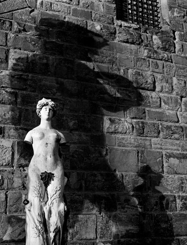 Herbert List, Shadow of David, Florence, Italy, 1934