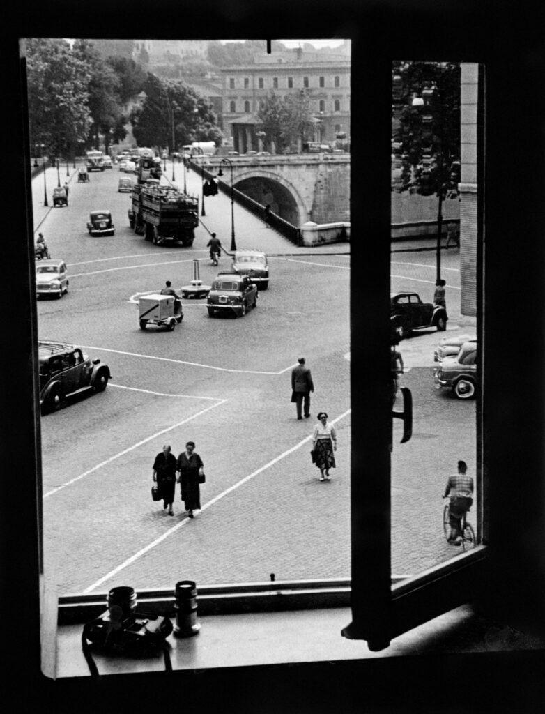 Herbert List, Window at Via della Lungarina, 1953