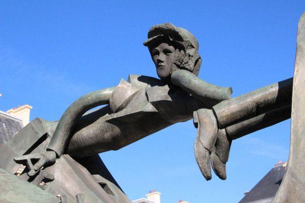 Ipoustéguy, L'homme aux semelles devant, 1985