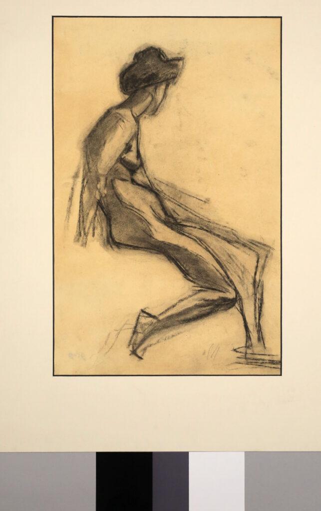 Jean PUY, Croquis de caractère, vers 1905-1906