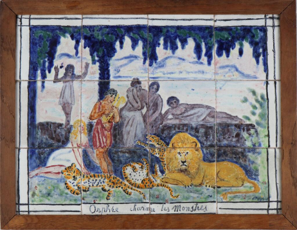 Jean PUY et André Metthey, Orphée charme les monstres , 1909
