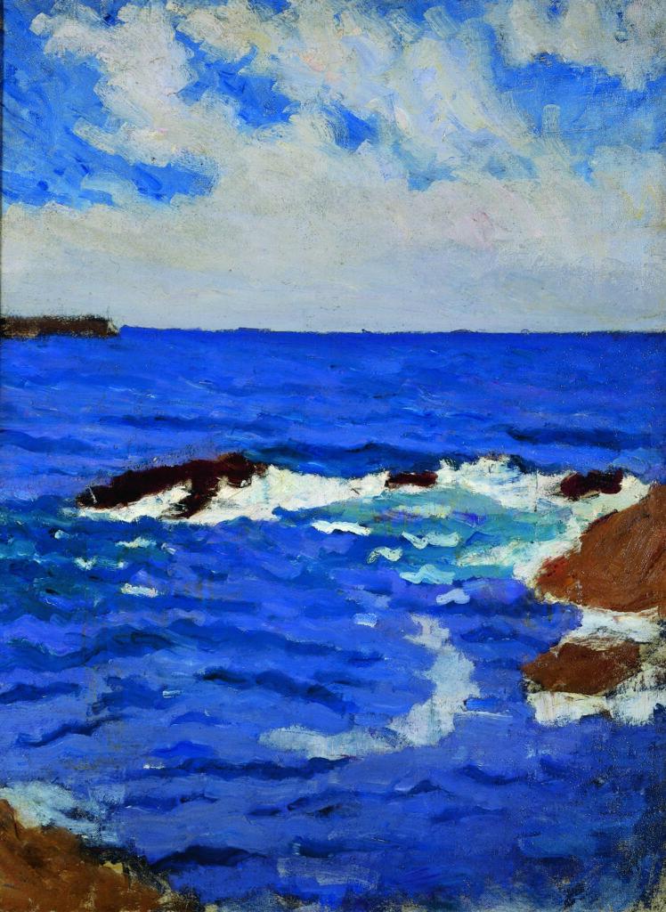 Jean Puy, Mer à Belle-Ile, 1902, collection Paul-Dini, Villefranche-sur-Saône