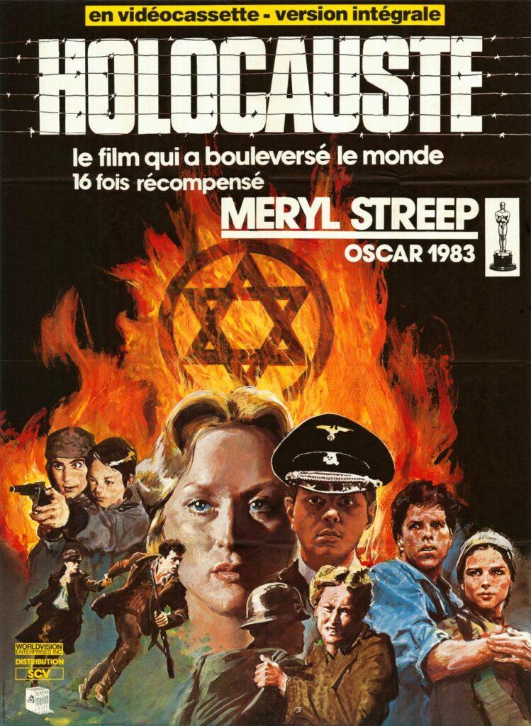 Affiche originale de la série Holocauste, réalisée par Marvin Chomsky