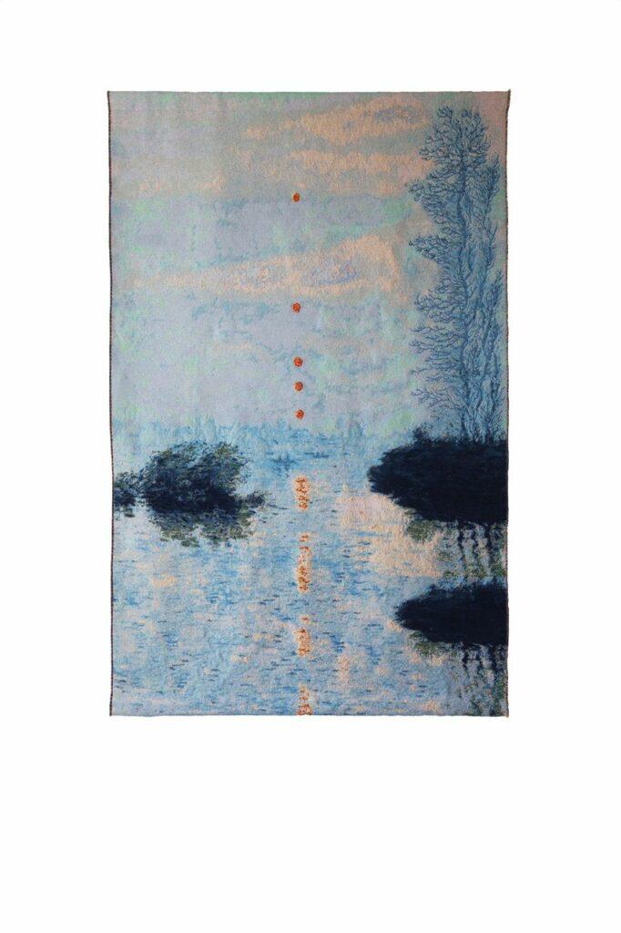 Laurence Aëgerter, Soleils couchants sur la Seine à Lavacourt, 202