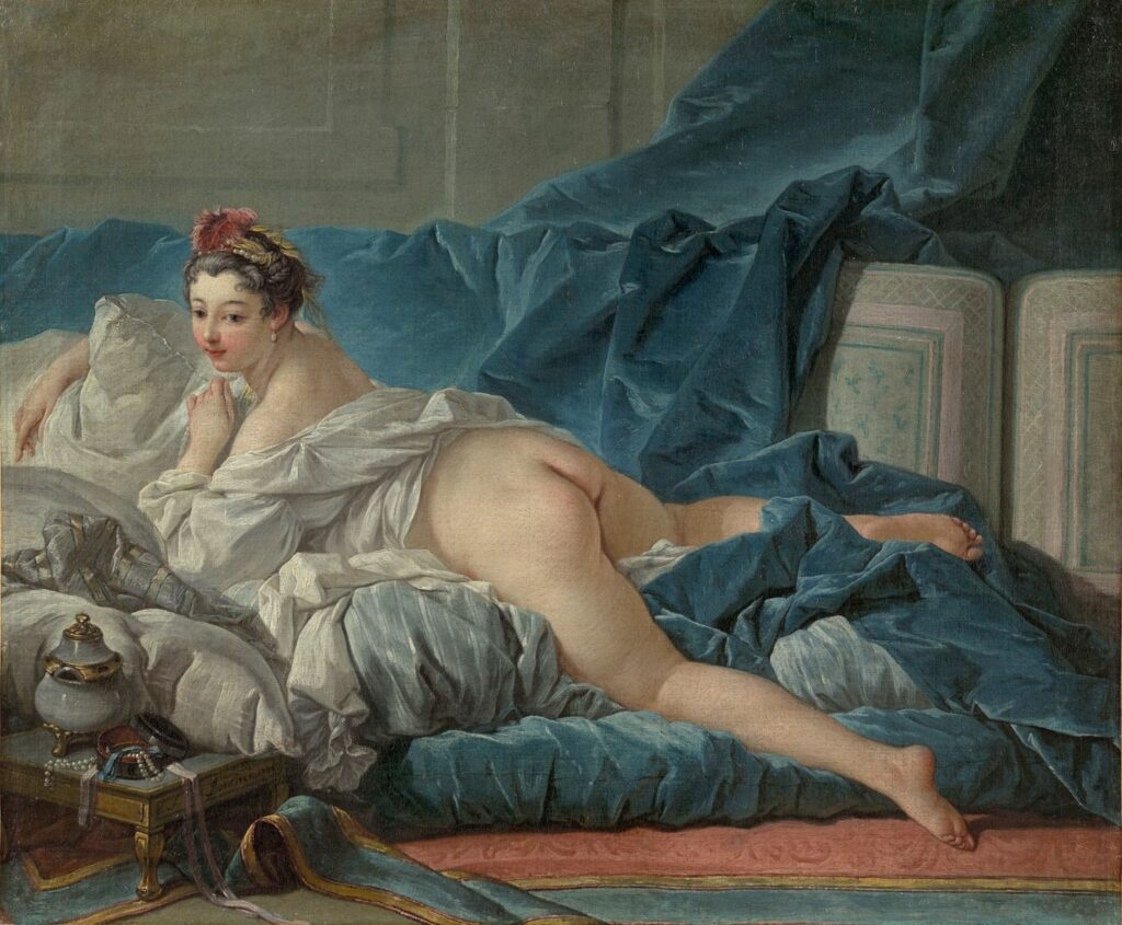 François Boucher (1703-1770) Odalisque brune, 1745