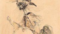 Exposition Leonor Fini, Sorcière squelette