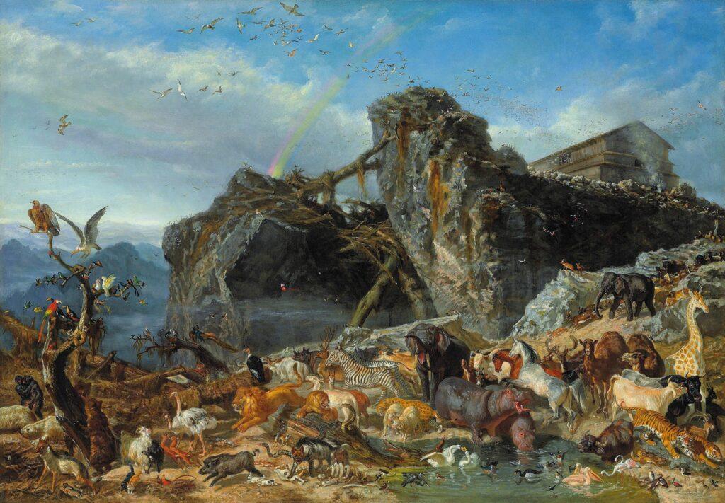 Filippo Palizzi (1818-1899) Après le déluge [Dopo il diluvio], 1863 ou 1867