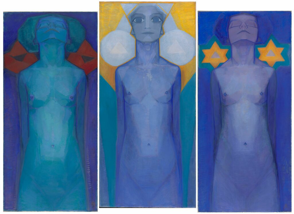 Piet Mondrian, Evolution, 1911
