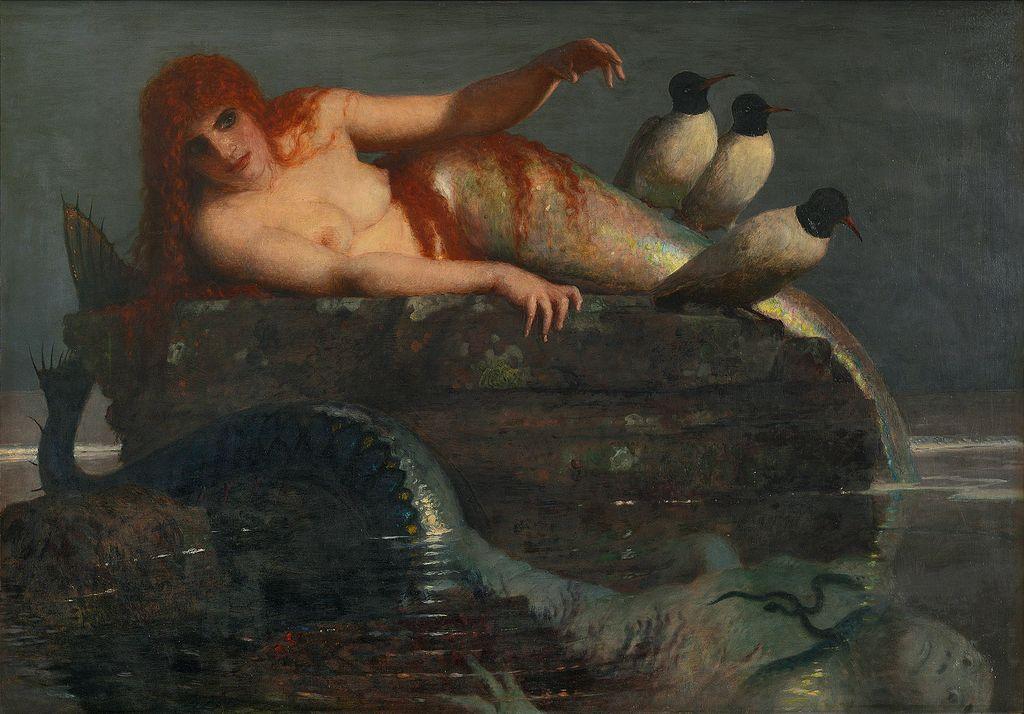 Arnold Böcklin (1827-1901), Meeresstille, 1886/87