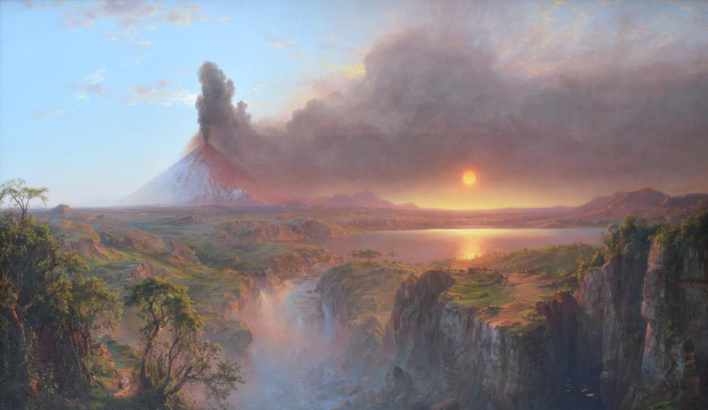 Frederic Edwin Church et DeWitt Clinton Boutelle, Cotopaxi, Ecuador, 1862