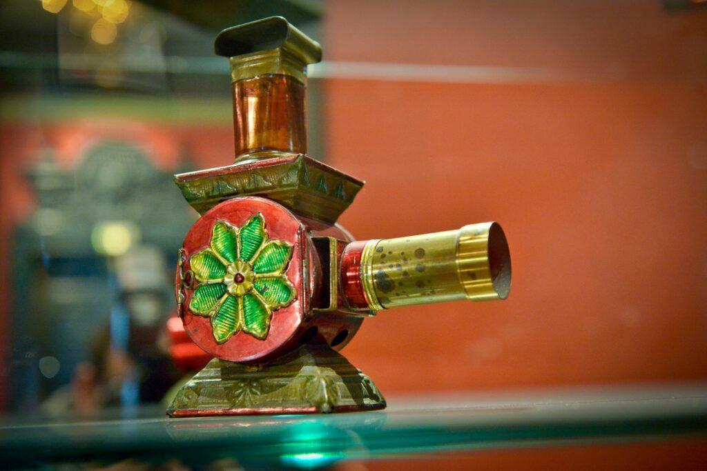 Lanterne magique de Lapierre, vers 1850