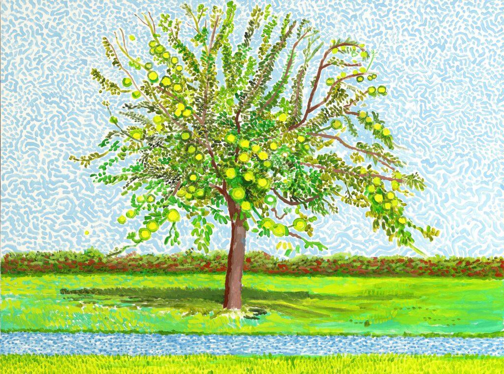 David Hockney, Apple Tree, 2019