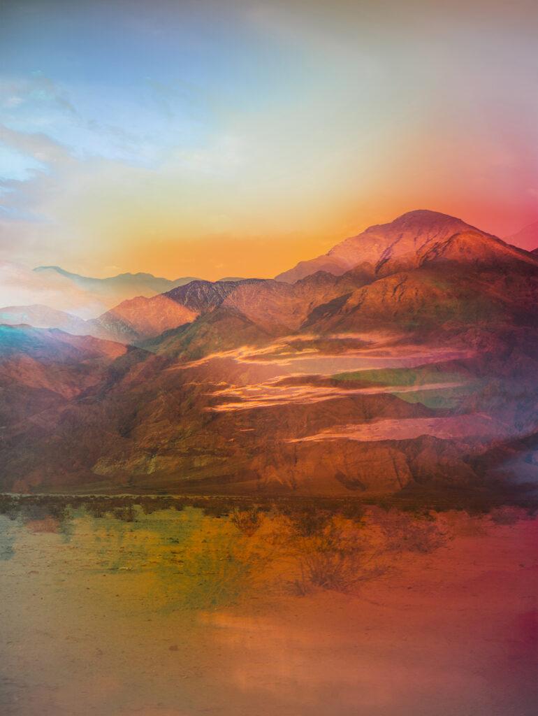 Terri Loewenthal, Psychscape 193 (Messenger Mountain, CA), 2020