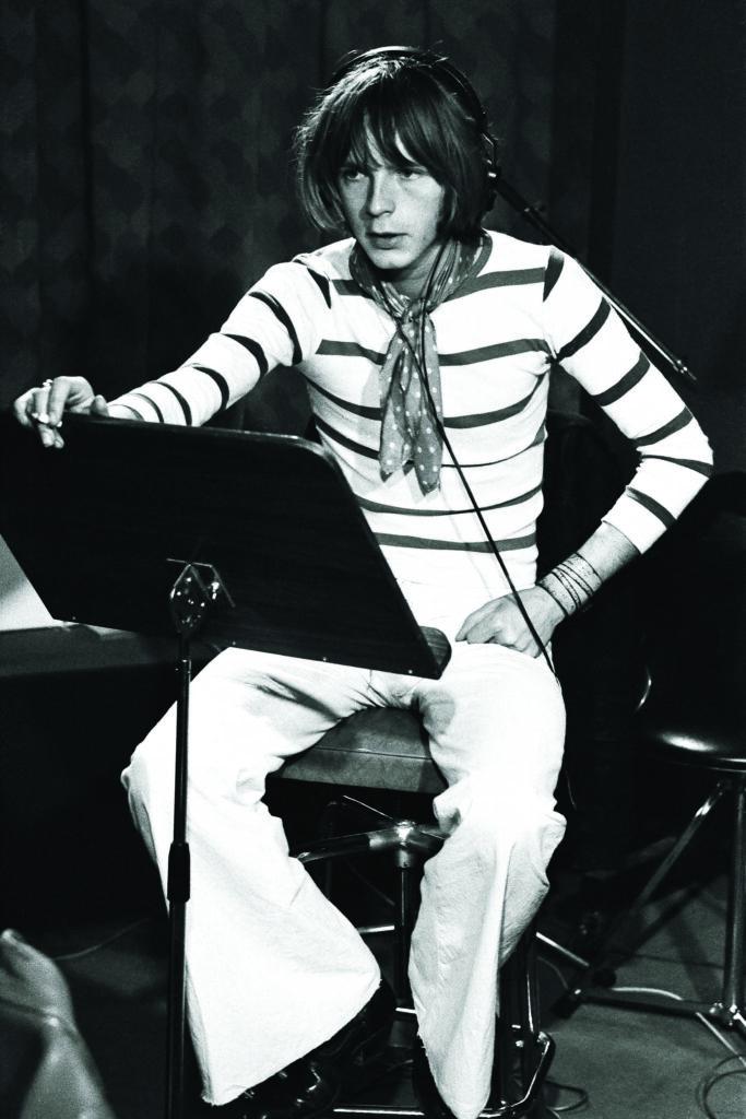 Enregistrement premier album au studio Damiens, 1974