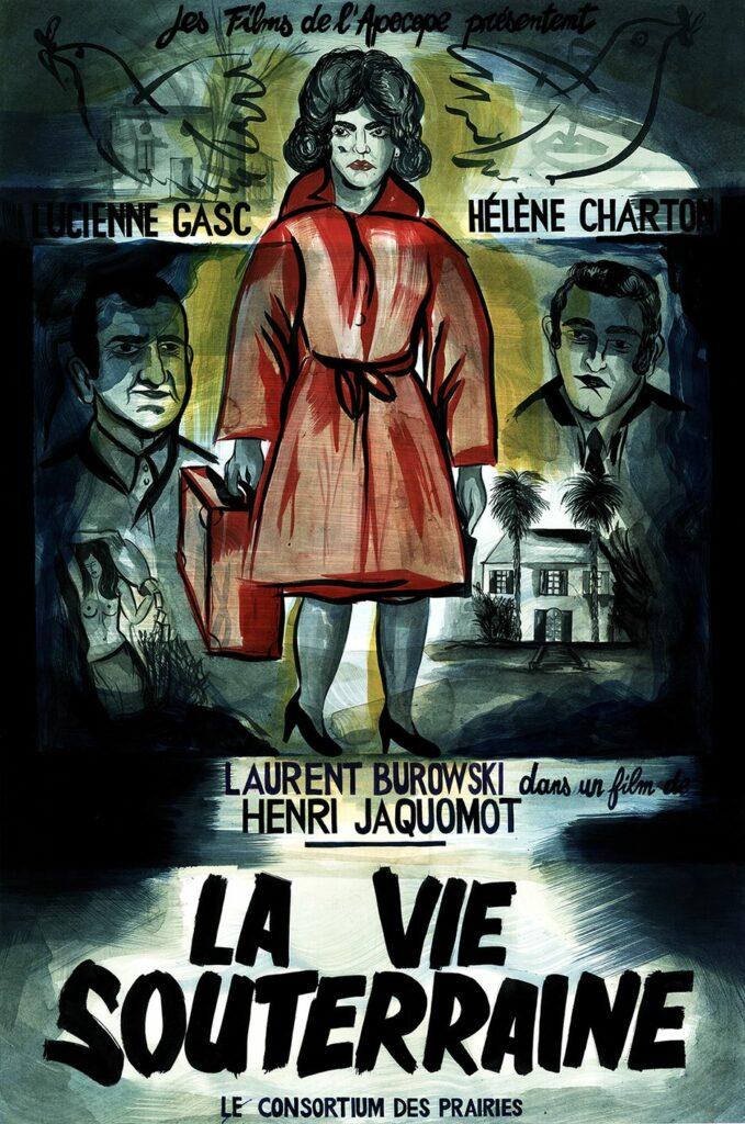 Camille Lavaud, La Vie Souterraine, Affiche, 2017