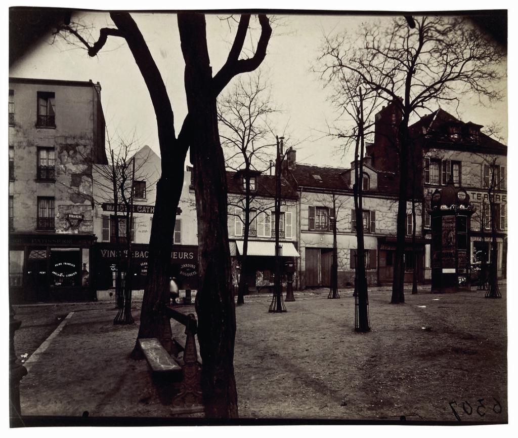 Eugène Atget, Cabaret de l'Homme armé, 25, rue des Blancs-Manteaux, IVe, septembre 1900