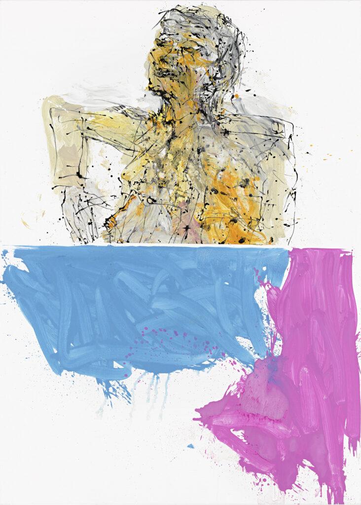 Georg Baselitz, In London nicht, der Arm aus Wien, der Kopf aus Berlin, 2011