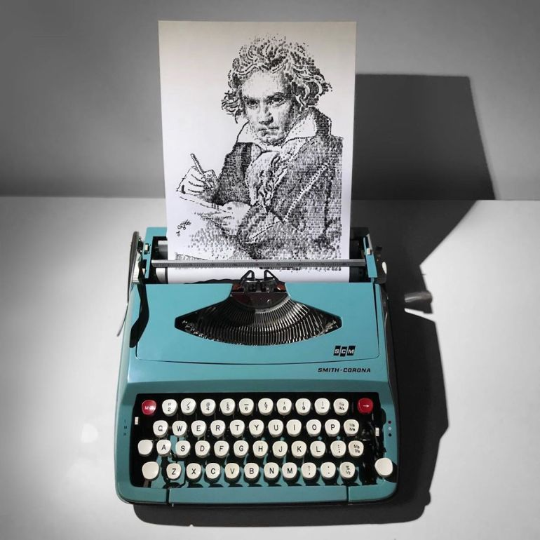 James Cook, Portrait de Beethoven