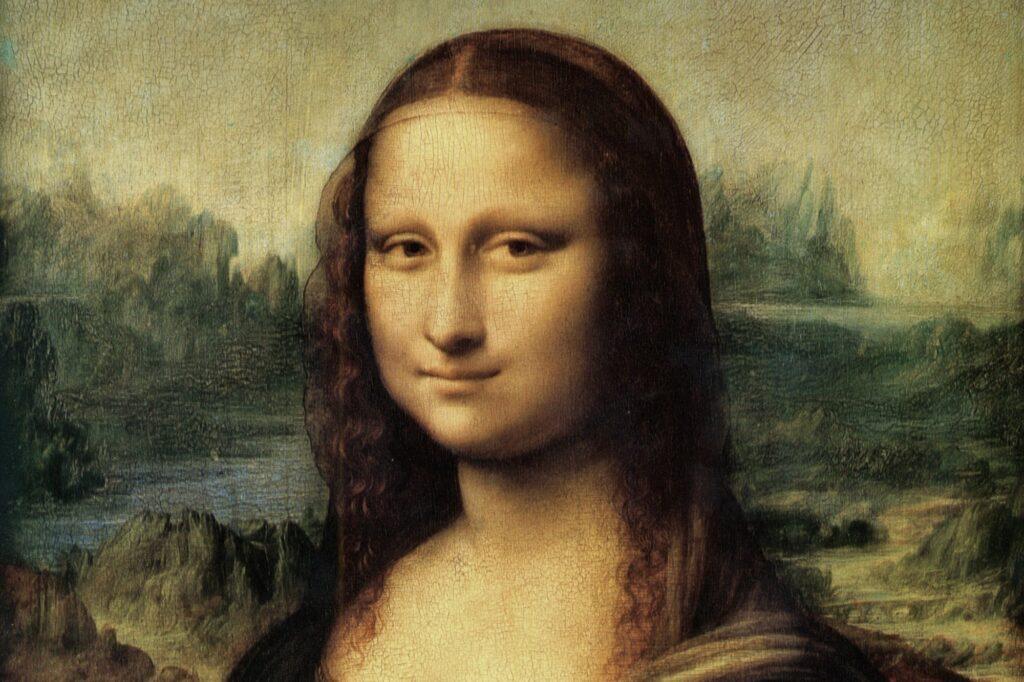 Léonard de Vinci, La Joconde, vers 1510 (détail)