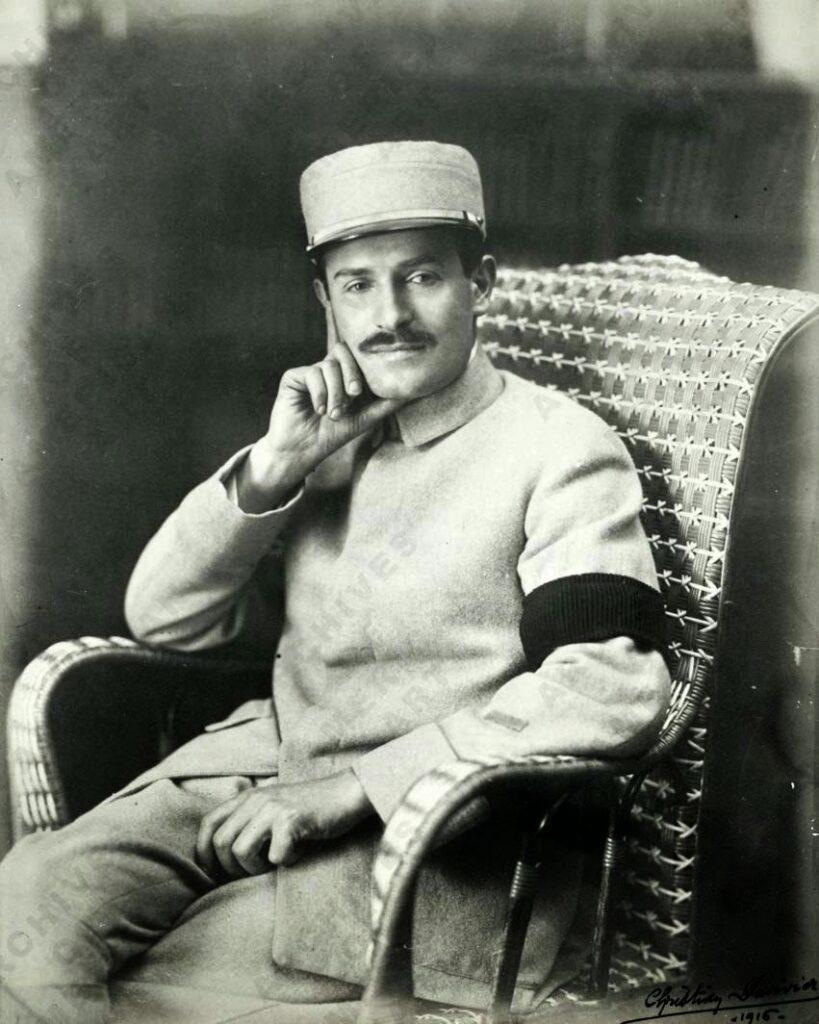 René Gimpel en 1916