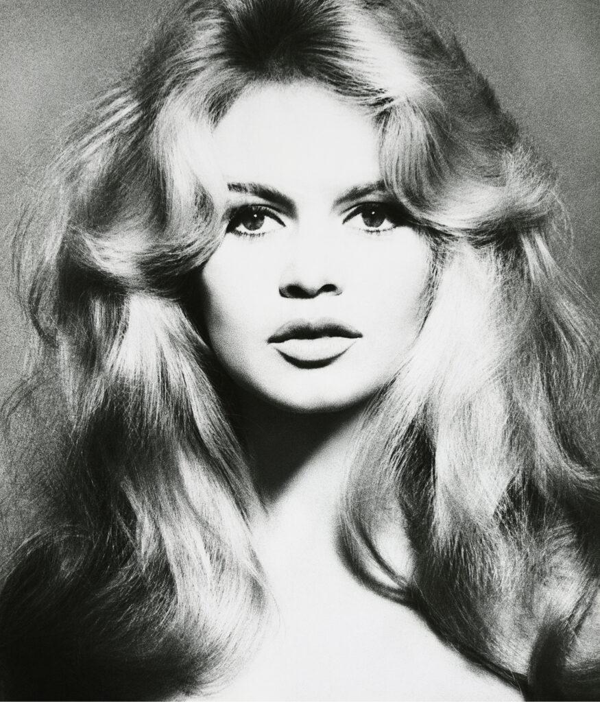 RICHARD AVEDON__Brigitte Bardot, hair by Alexandre, Paris, January 1959_, 1959__Gagosian-Paris__Bustes-de-Femmes_2020