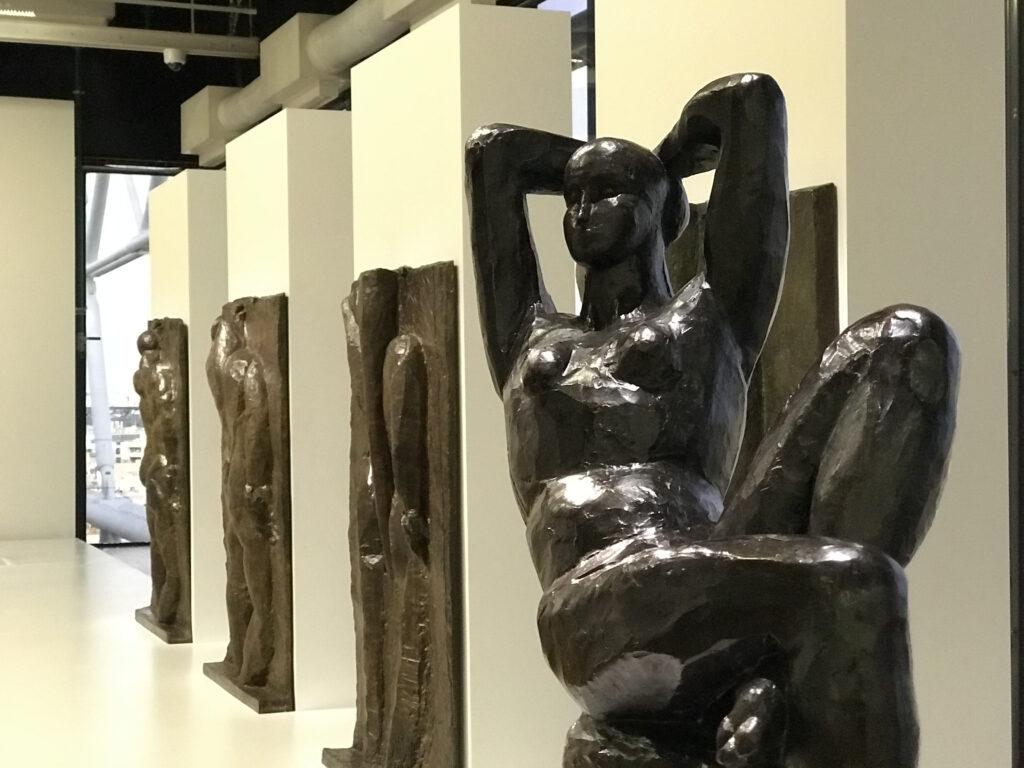 Vue de l'exposition Matisse au Centre Pompidou