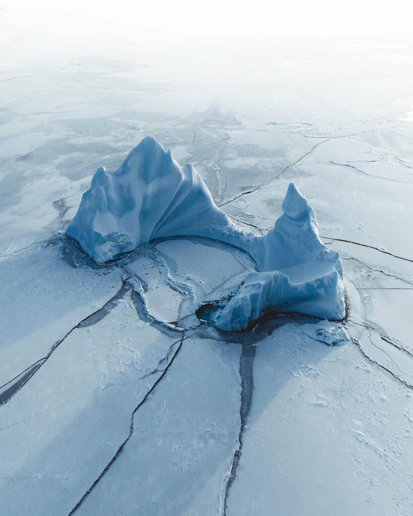 "1er prix ""Nature"" (Paysage aquatique) : Arctic paradise"