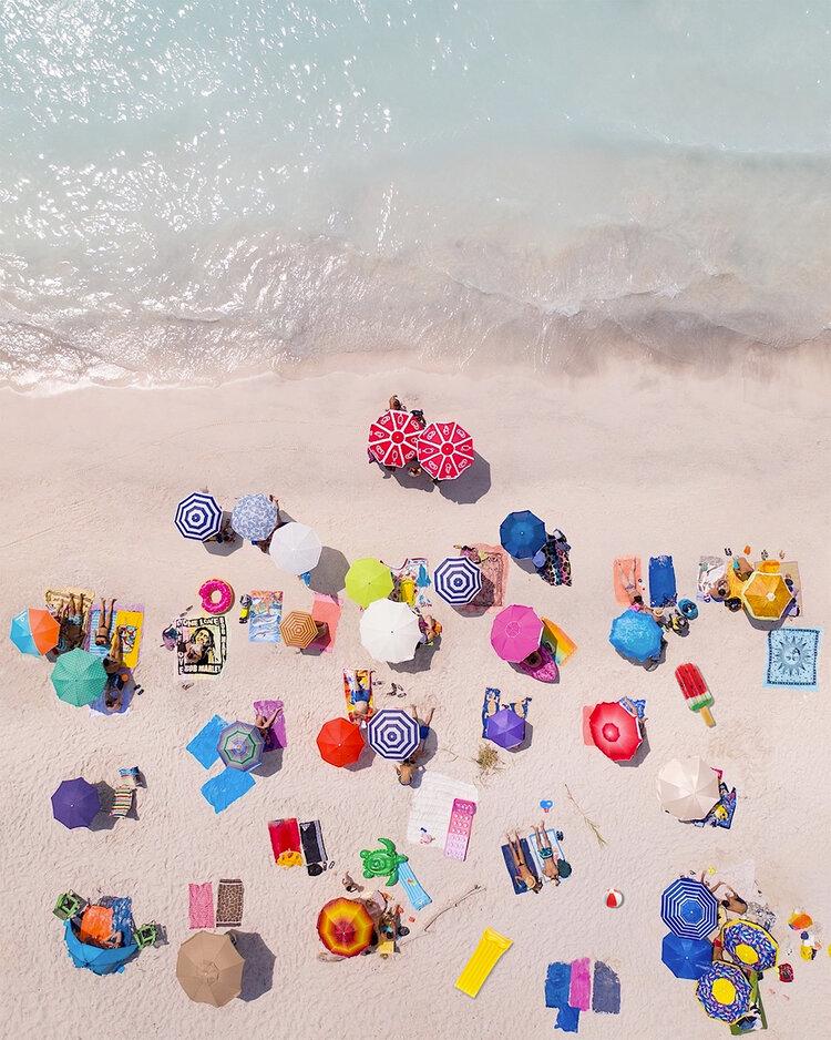 """4ème place """"Beaux-Arts"""" (Motifs) : Un été à la mer"""