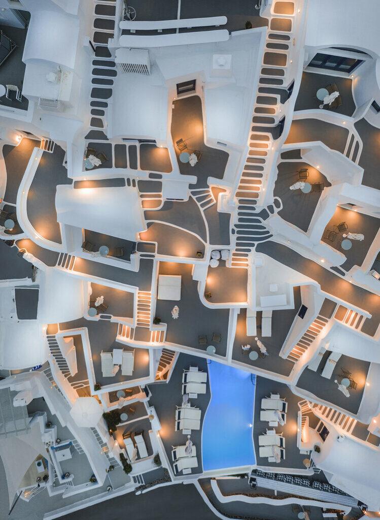 """1er prix """"Main de l'homme"""" (Architecture) : Abstrait Grèce"""