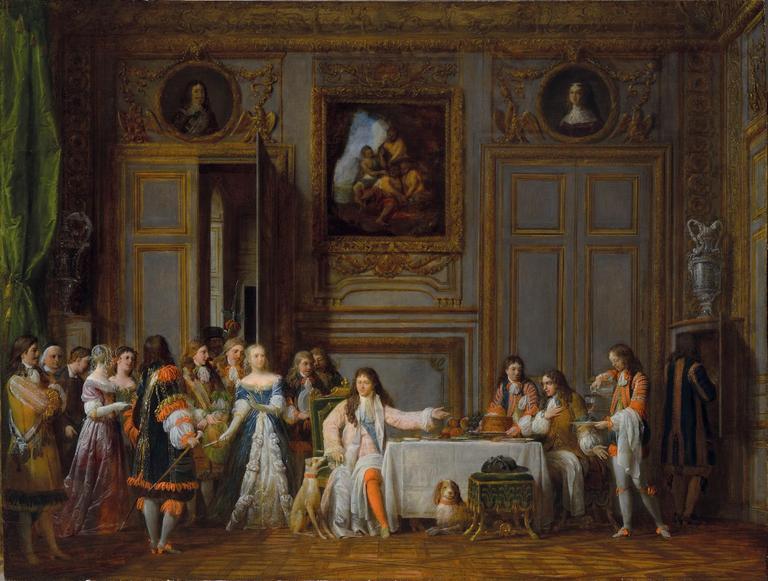 François-Jean Garneray, Molière honoré par Louis XIV, 1824