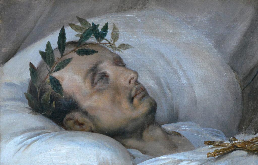 Horace Vernet, Napoléon sur son lit de mort, 5 mai 1821