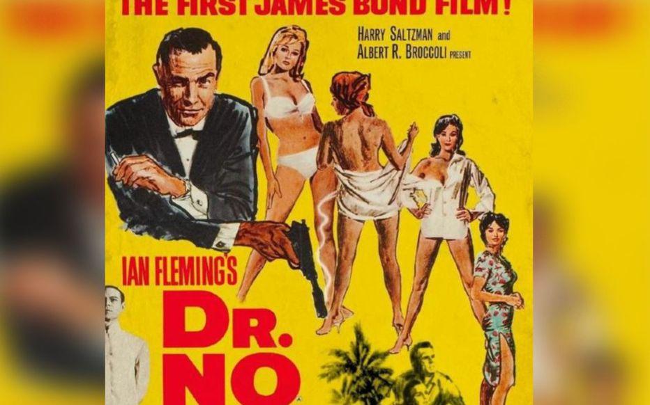 L'affiche de James Bond contre Docteur No