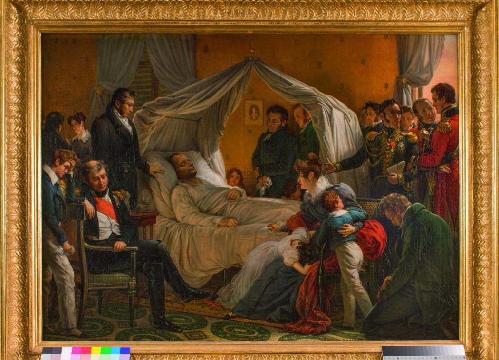 Charles de Steuben, Napoléon sur son lit de mort